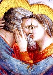 Giotto, Incontro tra Gioacchino e Anna sotto la Porta d'oro, 1304 ca., Gotico